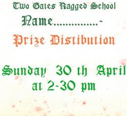 E166 TGRS Prize Distribution 1994