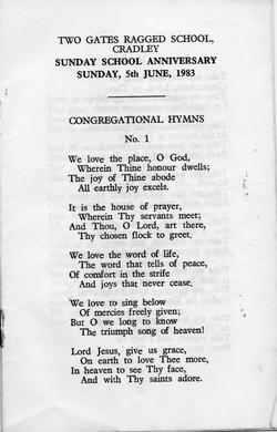 B204 Congregational Hymns[7]Anniversary-1983