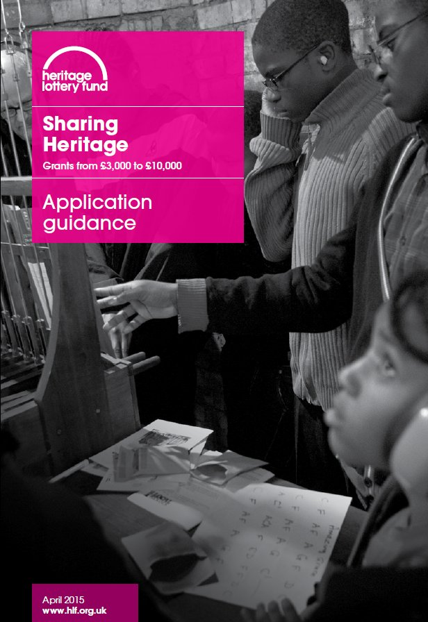 Sharing Heritage (Appliocation Guidance)