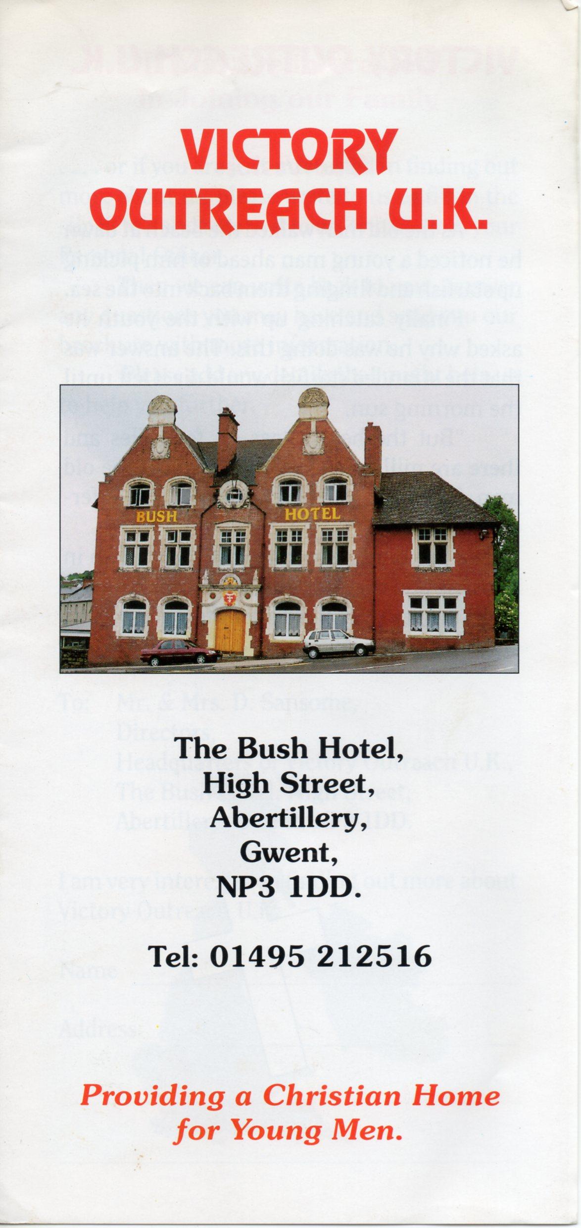 B053a Leaflet [Bush Hotel]