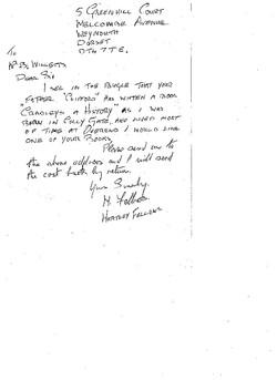 B060 Letter [Fellows]