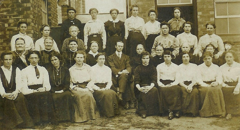 High Town Ragged School ladies
