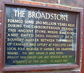Broadstone Plaque