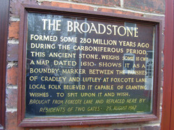 Broadstone Wall Plaque