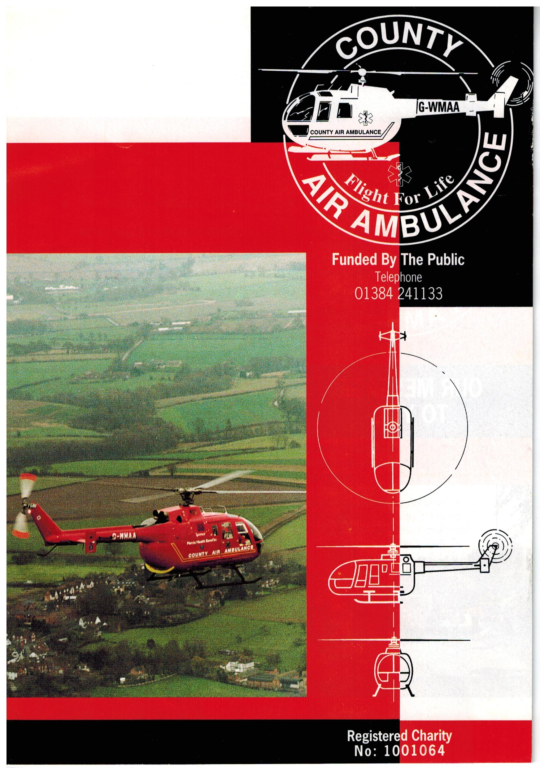 B000 Air Ambulance leaflet