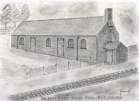 TGRS 1867 Drawing by Jim Round
