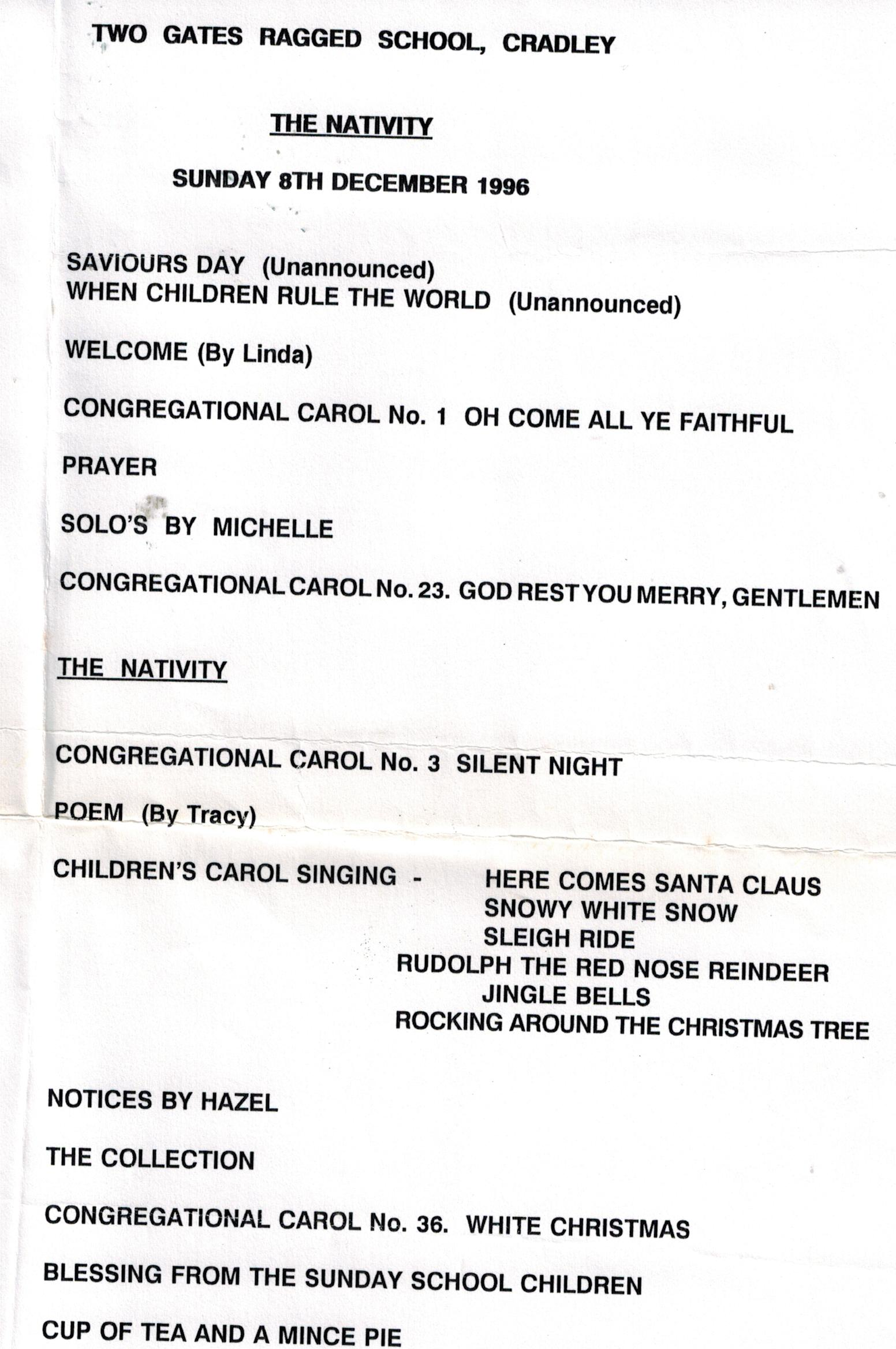 I264_Nativity_Programme_1996