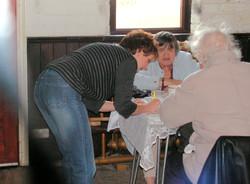 2009_02-27_Coffee Morning raffle seller bringing up the rear