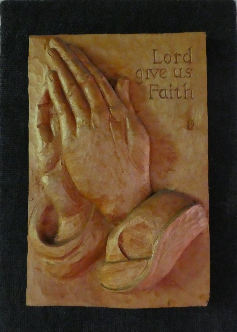 X144_Praying Hands