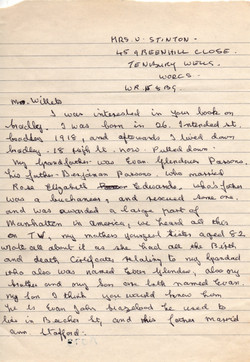 B073a Letter [Stafford]