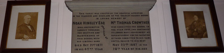 Hingley and Crowther memorial