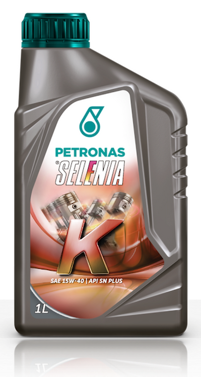 Óleo Petronas SELENIA K 15w40 Semi-sintético SN