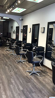 Interior of Cuozzo Hair Studio in Madison NJ