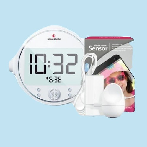 Alarm Clock Pro with Mobile Phone Sensor