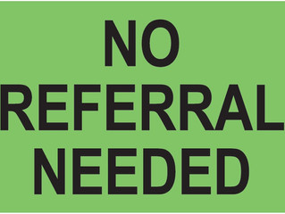 Need a Chiro? No Referral Required.
