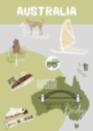 Australia Story Sticker