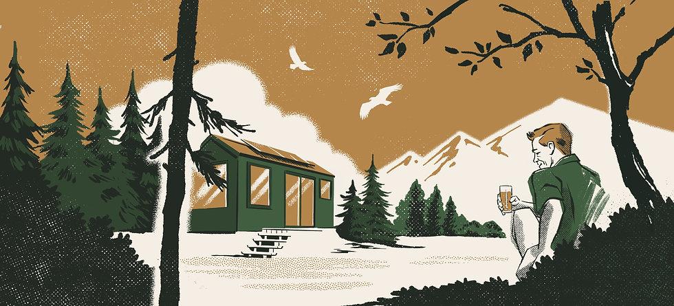 Yawa Tiny House illustration
