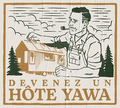 Devenez un hôte YAWA Tiny House