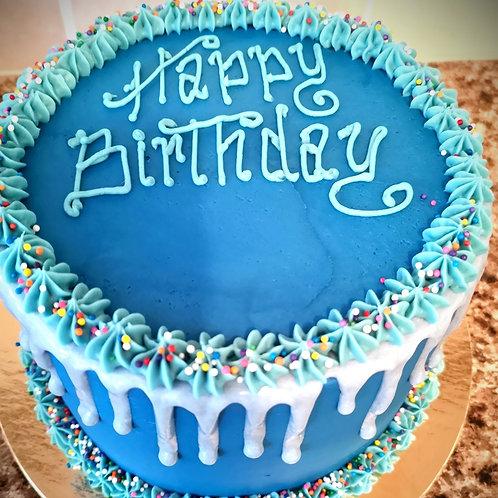 "6"" Classic Drip Cake | Feeds 4 - 8"
