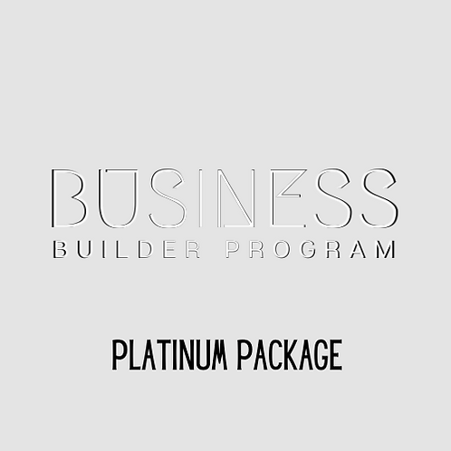 Business Builder Program | PLATINUM Package