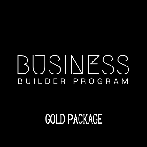 Business Builder Program | GOLD Package