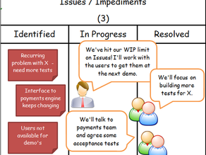 Can an Impediments Board make a Difference?