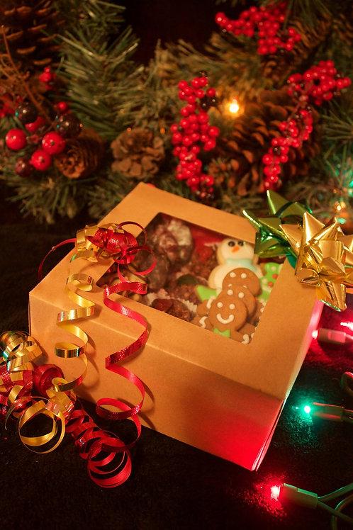 Classic Christmas Cookie Box - 2 dozen per box