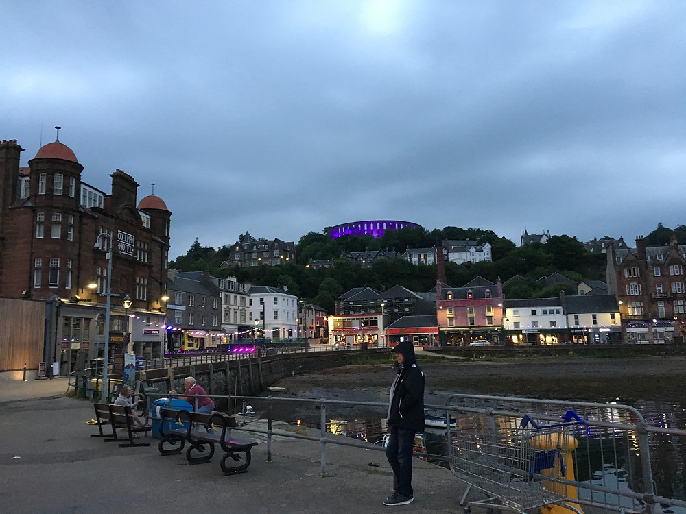Waiting for the Ferry in Oban back to Kerrera