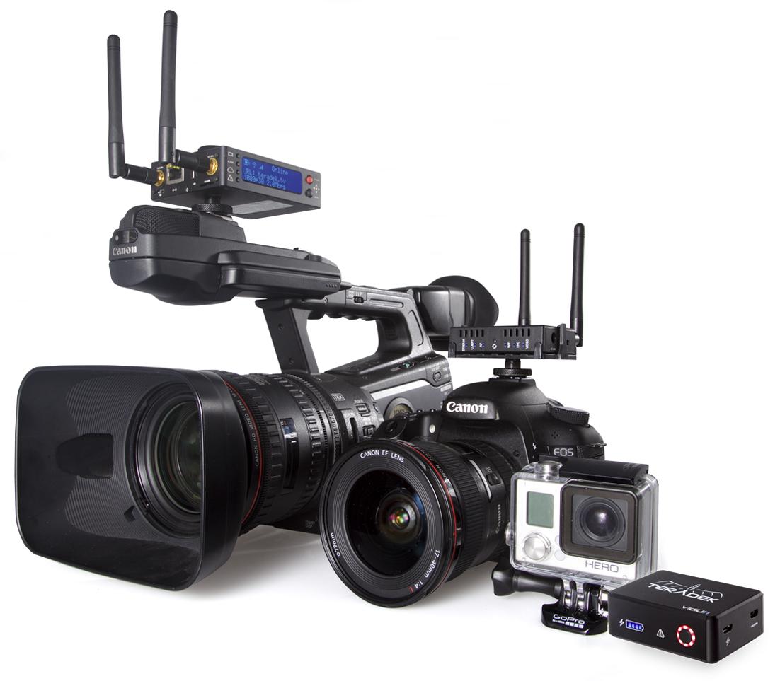 실시간 생방송 전문 장비
