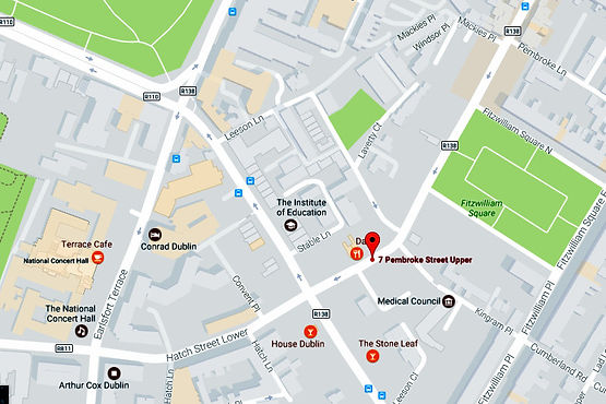 location map for DeepTissue.ie