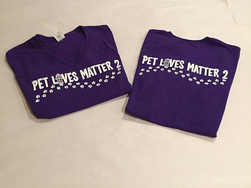 Pet Lives Matter 2 Tee Shirts $15.00-$20.00