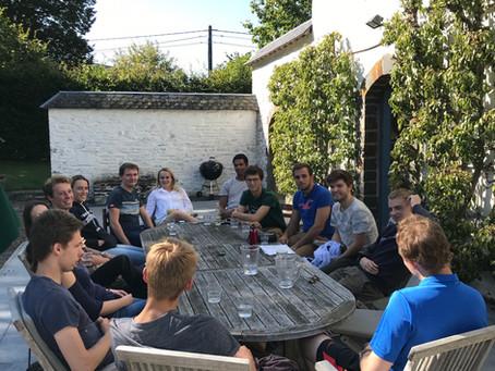 Team building in Roumont