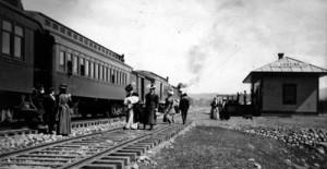 Lostine Train Depot