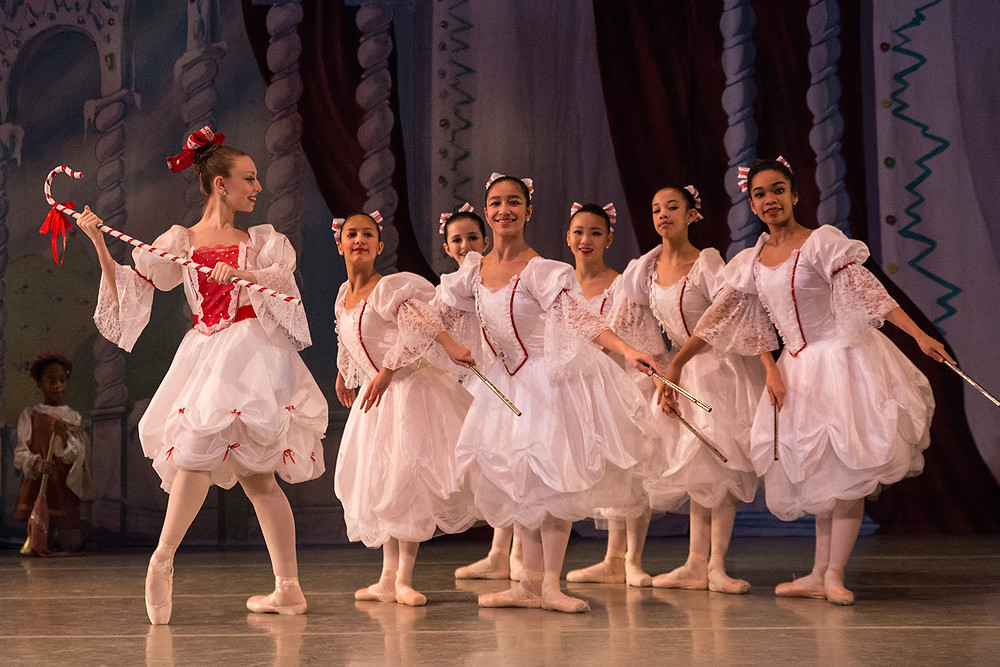 Costumes created by Mary Beth Budd for the Westchester Ballet Company's production of The Nutcracker
