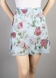 Trienawear Floral Print #908 style TR216FL Ballet Dance Skirt Front