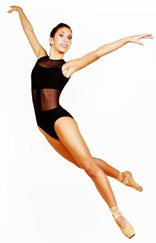 Beautiful, elegant, feminine Trienawear ballerina ambassador Mercedes Lozano contemporary ballet