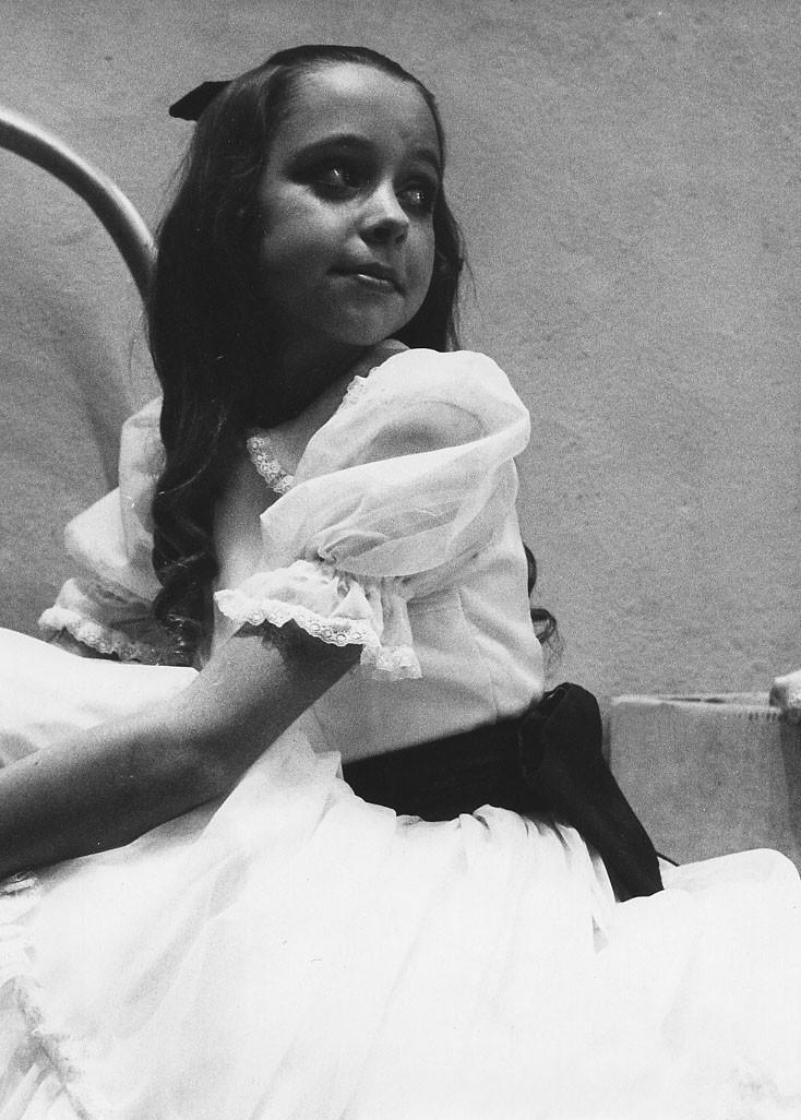 Mary Beth Budd as Clara in the Nutcracker