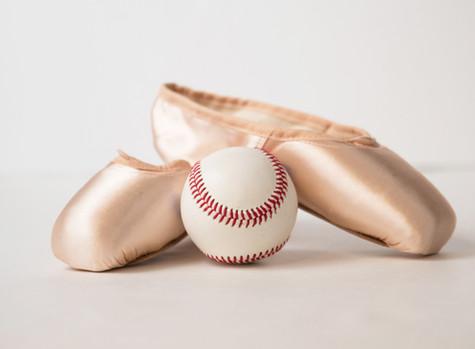Baseball and ballet? Definitely!