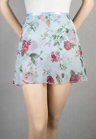 Trienawear Print #908 style TR200S-FL Ballet Dance Skirt Front