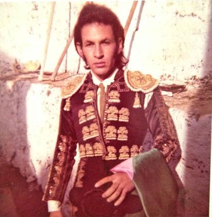 Bullfighter and father of Trienawear ballerina ambassador, Mercedes Lozano