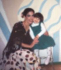 Beautiful, elegant, feminine Trienawear ballerina ambassador Mercedes Lozano with her ballerina mother Ingrid F Lozano