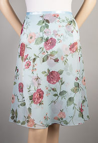Trienawear Floral Print #908 style TR200L-FL Ballet Dance Skirt Front