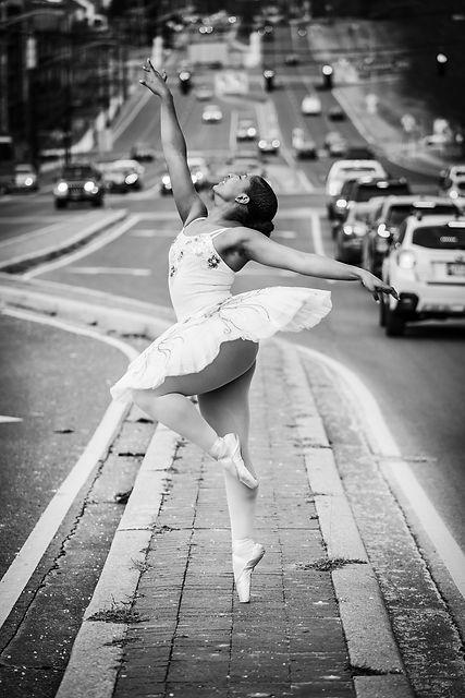 Beautiful, elegant, feminine Trienawear ballerina ambassador Sage Sarai wearing ballet tutu in Baltimore MD photo shoot