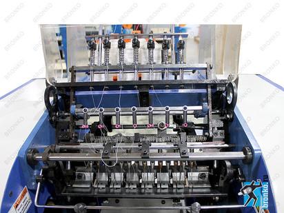 Установлено ниткошвейное оборудование