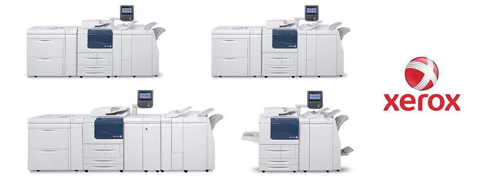 Печатный арсенал Xerox в типографии Юникопи