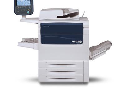 Установлена ЦМП Xerox C75