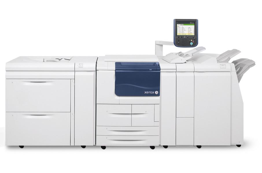 Xerox D110 установлен в типографии Юникопи