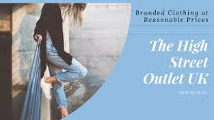 Welcome to High Street Outlet. Current and last seasons fashion at up to 80% off recommended retail price… why would you shop anywhere else?