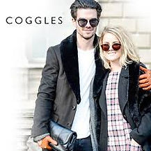 coggles Coggles is a designer fashion retailer for men and women. The company stocks over 400 brands which specialize in luxury clothing, accessories and footwear.
