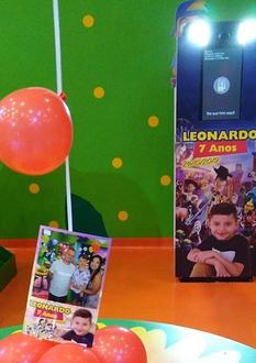 Festa Infantil Leonardo